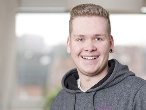 Niklas Hein, Auszubildender, Pflegeteam Jag in Seevetal